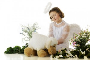http://www.dreamstime.com/royalty-free-stock-photos-lamb-loving-angel-image22667078