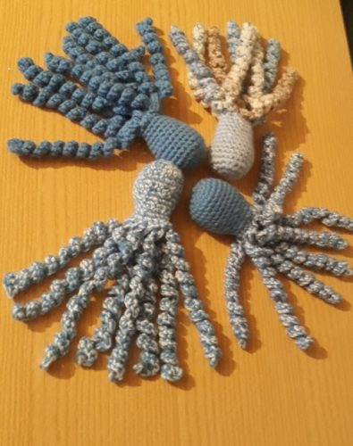 premature babies toy octopus