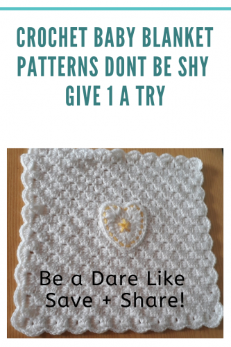 crochet baby blanket patterns easy