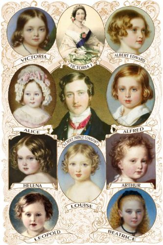 queen victoria had 9 children